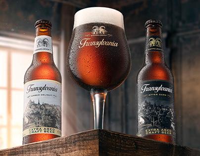 Transylvania Beer KV and packaging