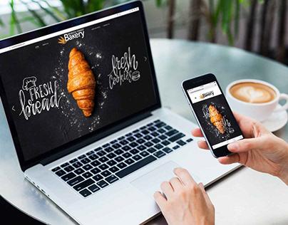 Munich Finest Bakery, Logo &Website user interface