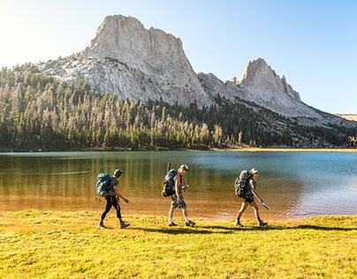 Matthes Lake Loop, Yosemite NP.