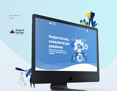 Ux/Ui Design - Consulting Company - Project Group
