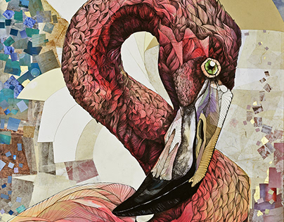Being Flamingo: the Big Pink