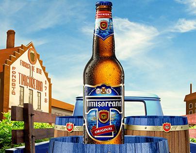 Timisoreana Beer Poster