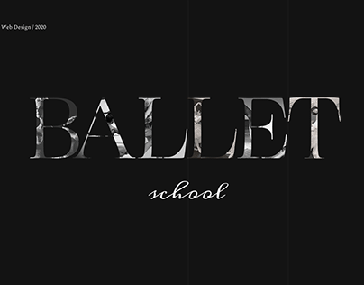 Ballet School | WebDesign Concept