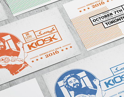 KIOSK 2016 TOUR PROMOTIONAL CAMPAIGN