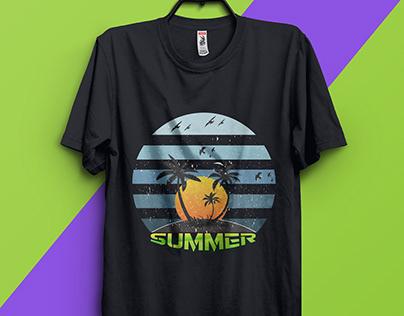 Summer T-shirt design