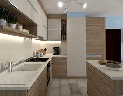 Lagoon - Rental Apartment Interior Design