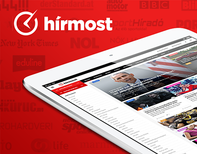News gathering site redesign concept