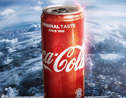 Coca cola / creative advertisement