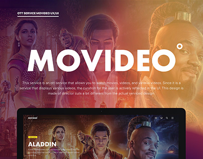 Movideo UX/UI