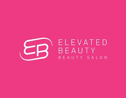 Elevated Beauty Salon Logo