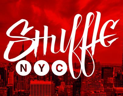Shuffle NYC Dance Crew - Animated Logo