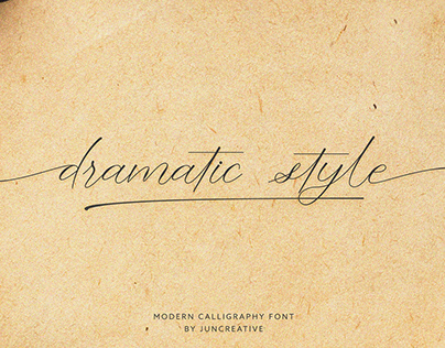 FREE | Dramatic Style Script