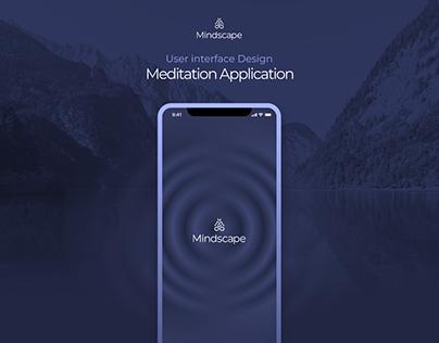 Mindscape Mobile application UI / UX design