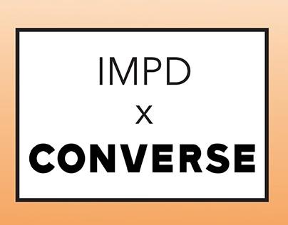 IMPD x Converse: Brand & Line Development (Vol.1)