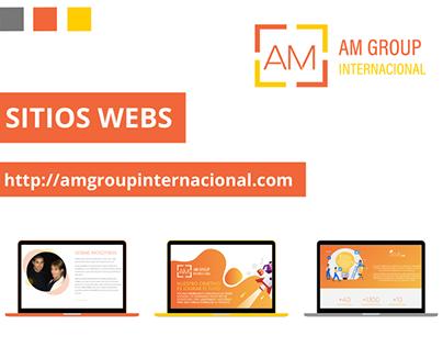AM SITIO WEB - DISEÑO