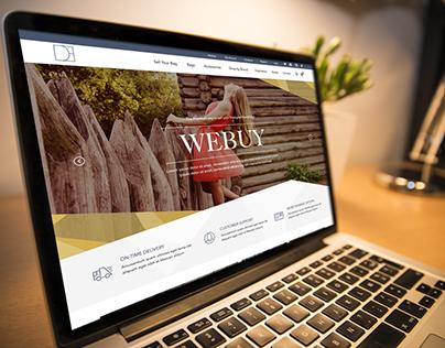 Designer Exchange E-Commerce Concept Design