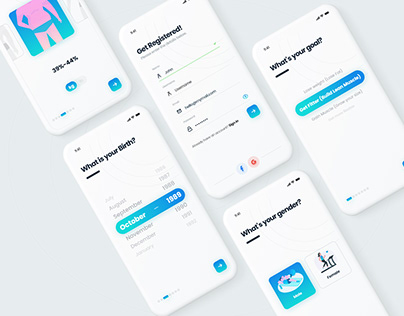 UI of Fitness App
