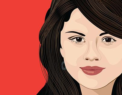 Selena Gomez Portrait   2016