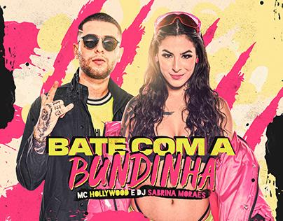 CAPA MC HOLLYWOOD E DJ SABRINA MORAES