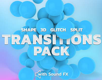 Transitions Pack | After Effects Template