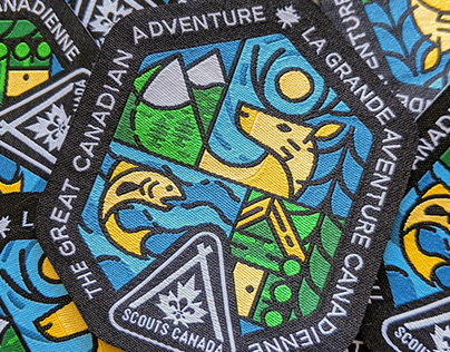 Scouts Canada — The Great Canadian Adventure Crest
