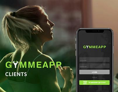 [ux/ui] GYMMEAPP App per clienti e trainer di palestre.
