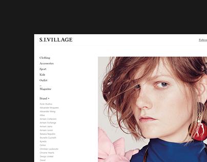S.I.Village UX/UI eXperience Design