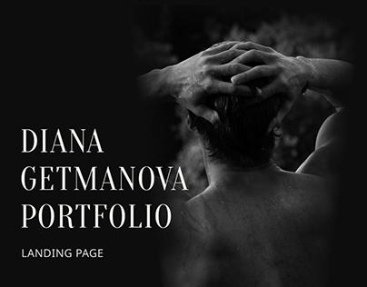 Diana Getmanova Photographer's Portfolio Website