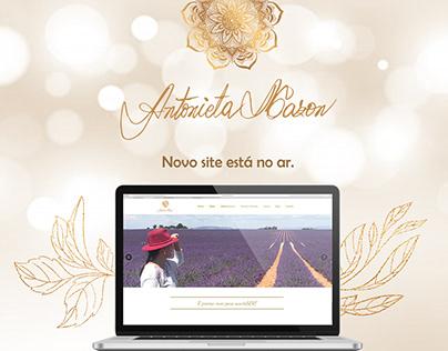 Novo Site Antonieta Mazon