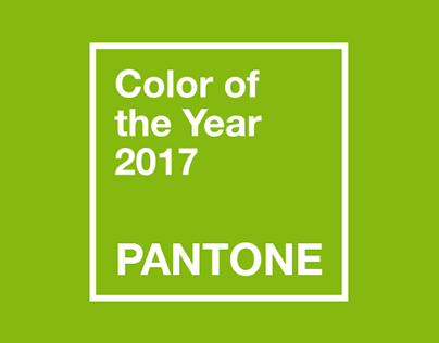 Pantone - Color of the Year 2017 Ad