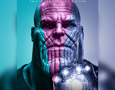 Thanos as Mad Titan