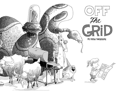 Off the Grid: Picture book in progress