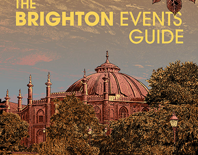 Cover to the Brighton Events Guide