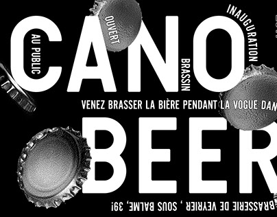 Canobeer brewery poster
