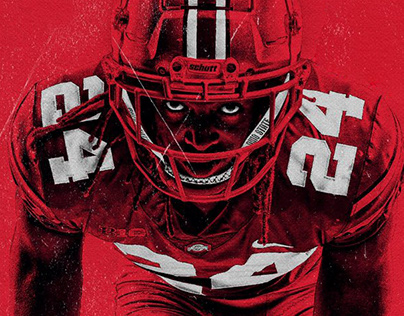 Fight To The End Art Direction - Ohio State Football