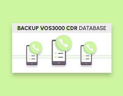 Backup VOS3000 Call Database Banner Design