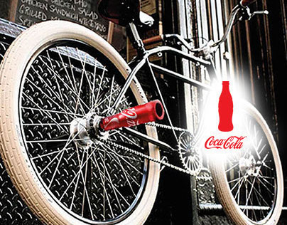 Share a Coke, share your bike - Coca Cola