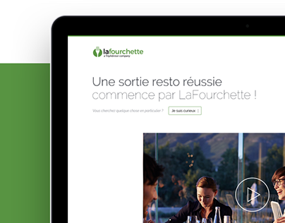 LaFourchette / TheFork - Corporate website redesign