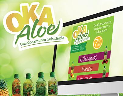 Oka Aloe Landing Page