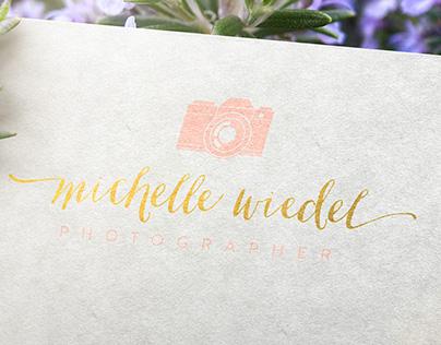 Michelle Wiedel Photography Logo Design