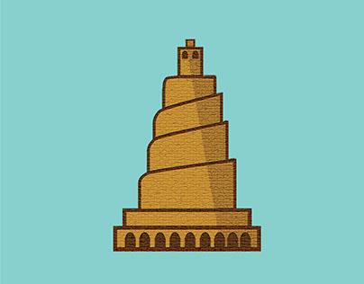 malwiya ,minart of samarra's great mosque iraq- samarra
