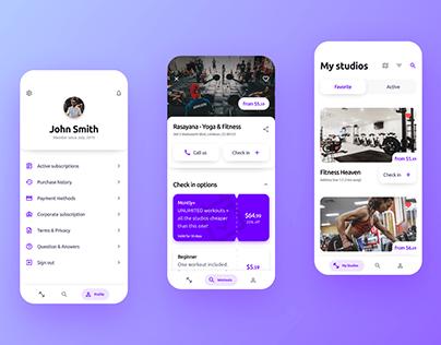MixFit - your perfect gym app!