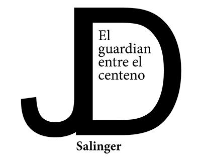 Cuatro cubiertas de libros de J.D Salinger