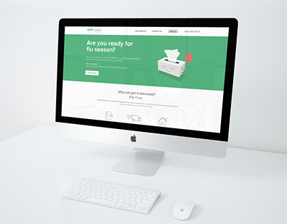 Gaetz Pharmacy Website Re-Design