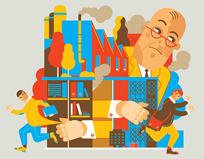 Some illustrations made for Harvard Business Review PL