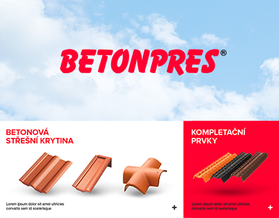 Betonpres - Website Redesign