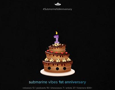 1st Submarine Anniversary