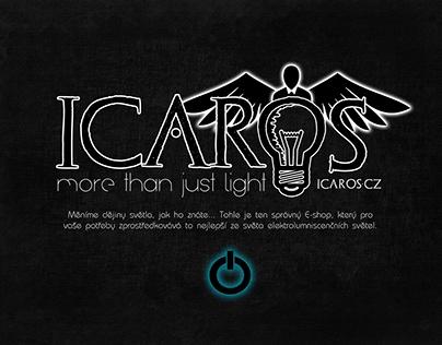 ICAROS – electroluminiscent lights e-shop