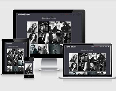 Portrait Photography Website