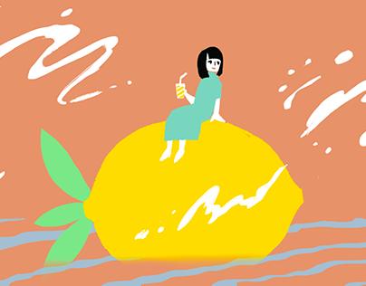 レモンと夏